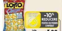 Lotto snacks cu aroma de pizza/ cascaval/ alune