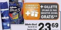 Glliette Blue 3 aparat de ras