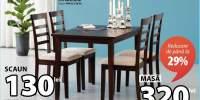 Bjert masa si scaune