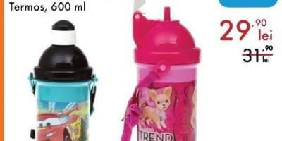 Termos Cars/ Minnie Mouse/ Barbie