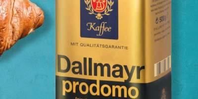 Cafea macinata 100% Arabica, Dallmayr