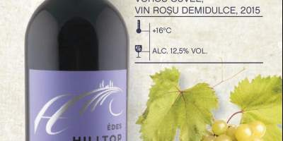 Vin rosu demidulce Voros Cuvee, Hilltop