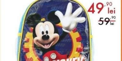 Ghiozdan de gradinita Mickey Mouse