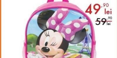 Ghiozdan de gradinita Minnie Mouse