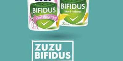 Iaurt natural degresat, Zuzu Bifidus