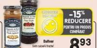 Dalfour gem caise/ 4 fructe/ cirese negre