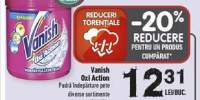 Pudra indepartare pete Vanish Oxi Action