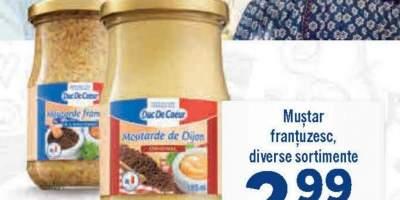 Mustar frantuzesc, Duc De Coeur