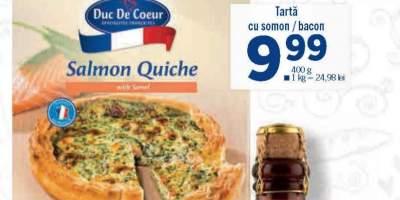 Tarta cu somon/ bacon Duc De Coeur