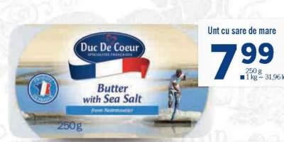 Unt cu sare de mare, Duc De Coeur