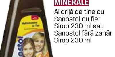 Sirop Sanostol - Vitamine si minerale