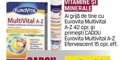 Eurovita MultiVital A-Z - Vitamine si minerala