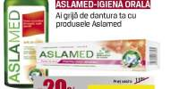 Produse igiena orala Aslamed
