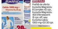 Eurovita vitamine si minerale