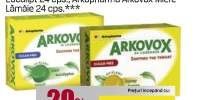 Arkopharma pentru dureri in gat