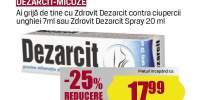 Dezarcit - micoze