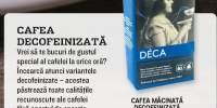 Cafea macinata decofeinizata Delhaize