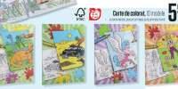 Carte de colorat 10 modele