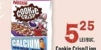 Cereale Cookie Crisp/ Lion, Nestle