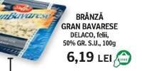 Delaco - Branza Gran Bavarese