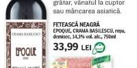 Epoque, Crama Basilescu, Feteasca Neagra si Citterio, Salame Milano