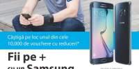 Fii pe + cu un Samsung S6 Edge +