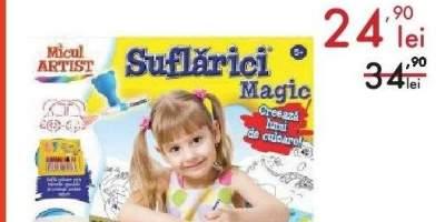 Suflarici Magic, Micul Artist