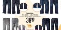 Jeans termo, fete/ baieti, 1-6 ani, 2 modele