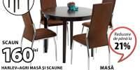 Harlev + Agri masa si scaune
