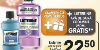 Apa de gura Total Care/ Advanced White Listerine