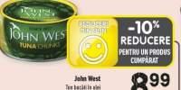 John West ton bucati in ulei