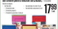 Set creativ pentru felicitari de Craciun