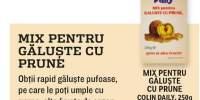 Mix pentru galuste cu prune, Colin Daily