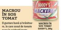 Macrou in sos tomat, Goody's