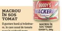 Macrou in sos tomat, Goody's