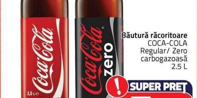 Bautura racoritoare carbogazoasa Coca-Cola