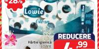 Hartie igienica Lowie