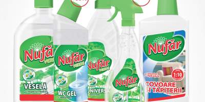 Articole curatenie Nufarul Verde