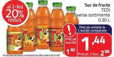 Suc de fructe Tedi