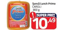 Sunca Lunch Primo, Caroli