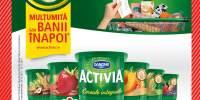 Iaurt cu fibre, Danone Activia