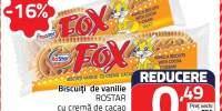 Biscuiti de vanilie Rostar