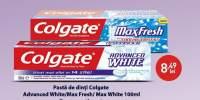 Pasta de dinti Colgate Advanced White/ Max Fresh/ Max White
