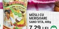 Musli cu merisoare Sano Vita