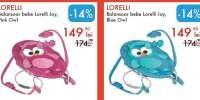 Balansoar bebe Lorelli Joy, Pink/ Blue Owl