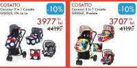 Cosatto carucior 3 in 1 Giggle Oaker/ Oh La La/Pixelate/ Red Bubble
