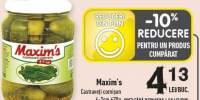 Castraveti cornison Maxim's