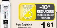 Apa minerala plata Aqua Carpatica