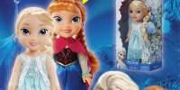Papusa Frozen Ana si Elsa