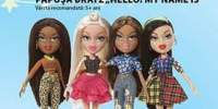 "Papusa Bratz "" Hello! My name is"""
